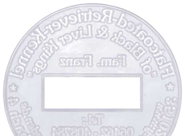 Stempel Textplatten - Datum