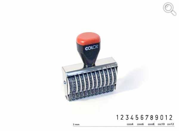 Ziffernbandstempel 05012