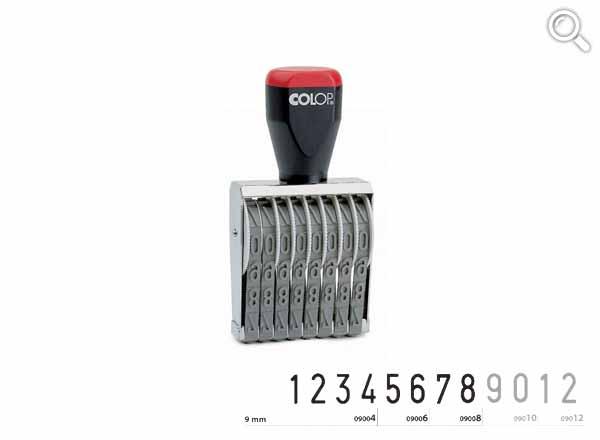 Ziffernbandstempel 09008