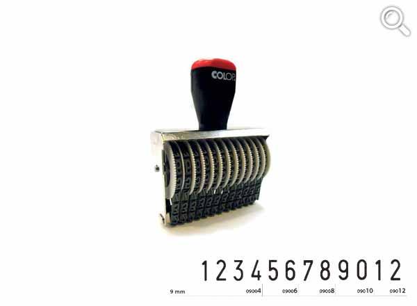 Ziffernbandstempel 09012
