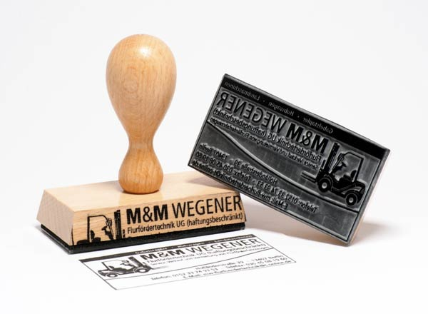Holzstempel 150 x 50 mm