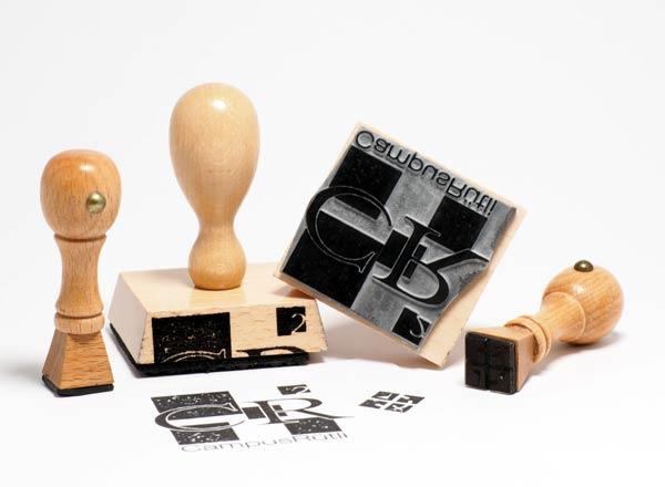 Holzstempel 110 x 110 mm