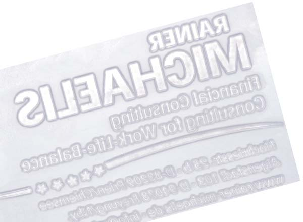 Stempel Textplatte Printer 55