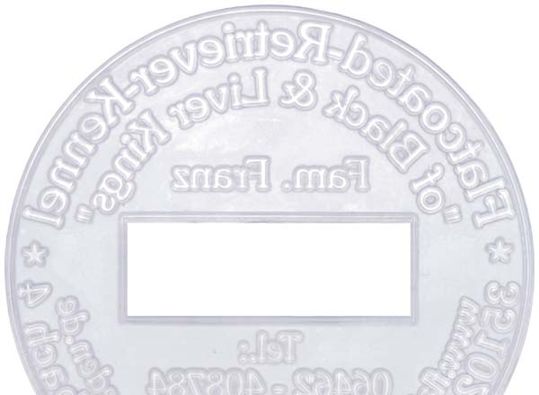 Stempel Textplatte Printer R45-Dater