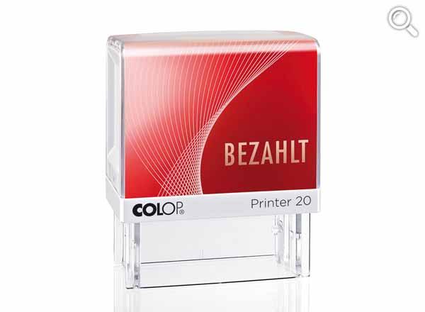 Printer 20/L Lagertext