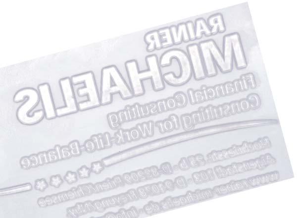Stempel Textplatte Mini Pocket Stamp