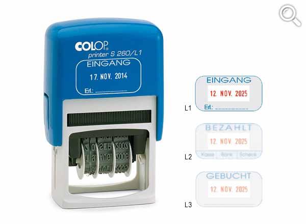 Colop Printer Line S260/L
