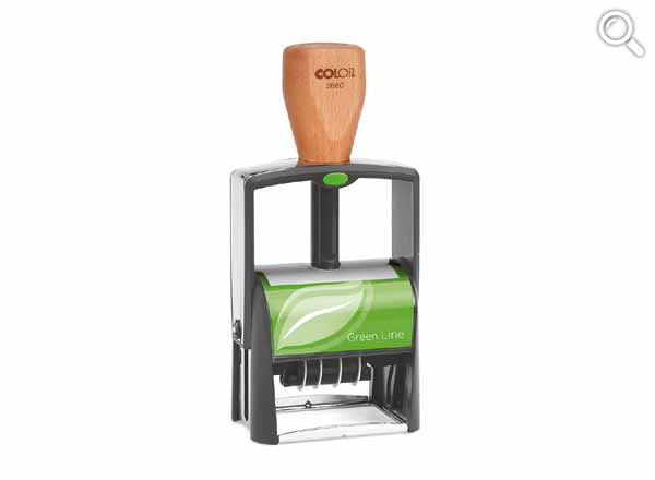 Colop Classic 2660 Dater Green Line