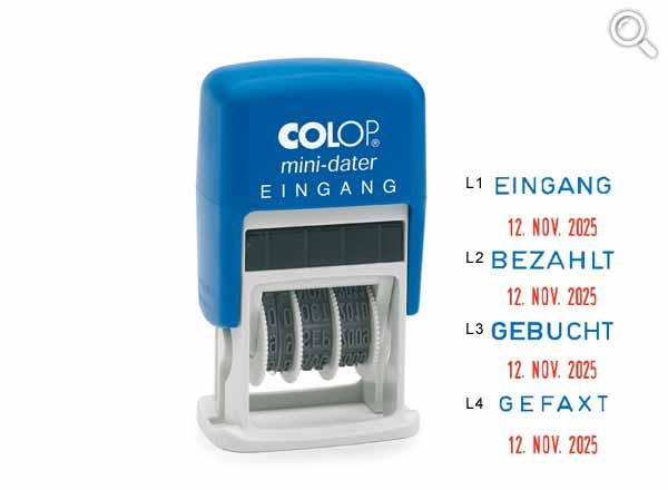 Colop Mini-Dater S160/L