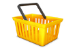 Shopping cart icon in 3D Vol.2